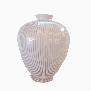White Watermark Amphora von Franco Valmarana, 1970er
