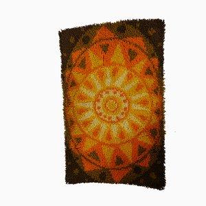 Vintage Space Age Tapestry Carpet, 1970s