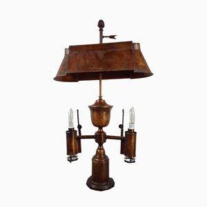 Antike Maritime Tischlampe aus Kupfer