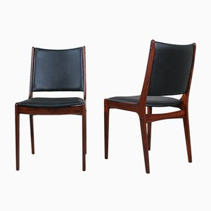 Chaises de Salon en Palissandre par Johannes Andersen pour Uldum Møbelfabrik, 1960s, Set de 8