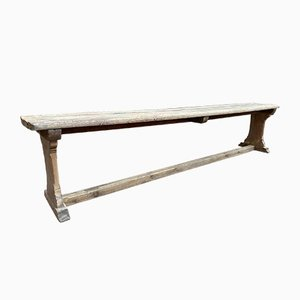 Oak Farmhouse Bench, 1940s