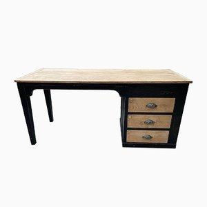 Vintage Oak Desk, 1930s