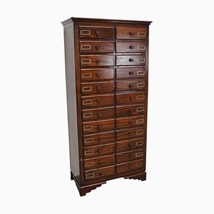 French Pine Apothecary Bank of Drawers, 1950s