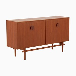 Mid-Century Swedish Model Tove Sideboard by Tove & Edvard Kindt-Larsen for Seffle Möbelfabrik, 1963