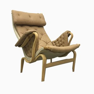 Pernilla Lounge Chair by Bruno Mathsson for Dux