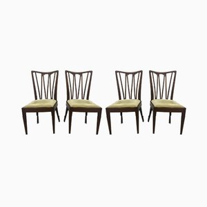 Vintage Dining Chairs by A.A. Patijn, 1950s, Set of 4