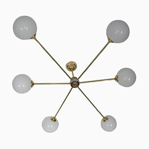Chandelier in the Style of Stilnovo, 1960s