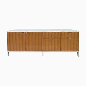 Marble-Top Sideboard by Florence Knoll, 1970s