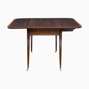 Table Pembroke 19ème Siècle en Acajou