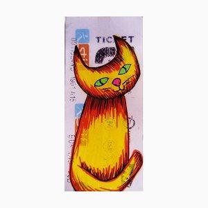 Yellow Cat by Jessica Pliez, 2019