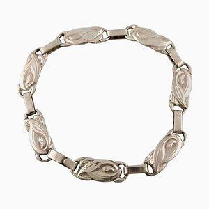 Vintage Danish Modern Design Silver Bracelet