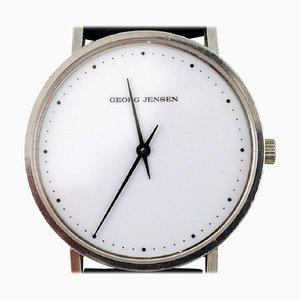 Gentleman's Armbanduhr aus Stahl von Henning Koppel für Georg Jensen