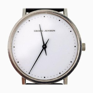 Gentleman's Wristwatch of Steel by Henning Koppel for Georg Jensen