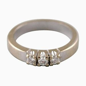 Denmark Ring in 14 Karat White Gold by Henning Ulrichsen