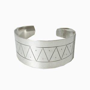 Silbernes Armband von Arvo Saarela, 1961