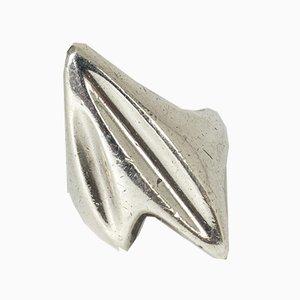 Anello in argento di Henning Koppel per Georg Jensen, anni '50