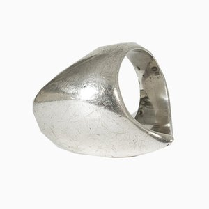 Silver Ring by Nanna Ditzel for Georg Jensen, 1960s