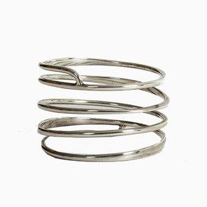 Silver Bracelet by Bent Knudsen, 1960s