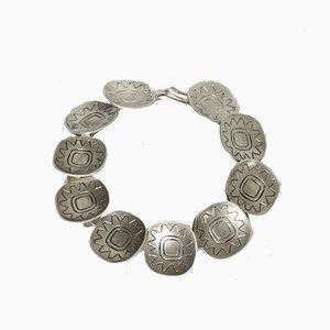 Silbernes Armband von Atelier Borgila, 1958