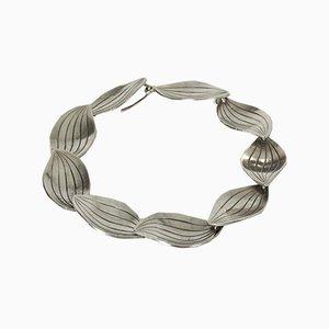 Silver Leaves Bracelet von Sigurd Persson für Stigbert, 1950er