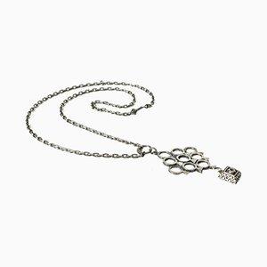 Silber Halsketten-Anhänger von Pentti Sarpaneva für Turun Hopea 1972