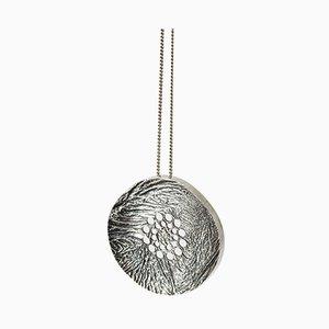 Collier pendentif en argent par Liisa Vitali, 1970