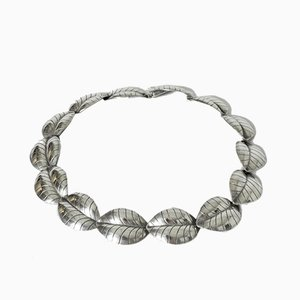 Silver Leaves Collier from Kaplans, 1957