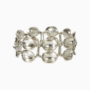 Silver Bowls Bracelet by Sigurd Persson for Stigbert, 1950s