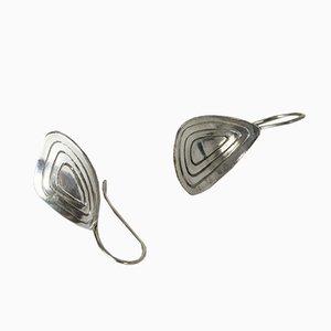 Silberne Ohrringe von Alton, 1957, 2er Set