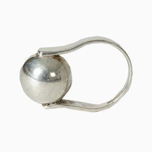 Silberner Ring von Isaac Cohen, 1966
