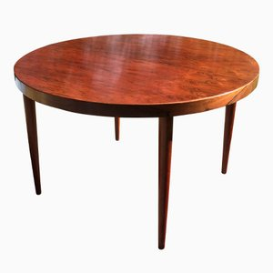 Round Rosewood Table by Kai Kristiansen