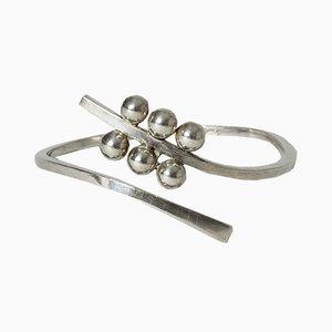 Silver Bracelet by Bengt Liljedahl, 1960s