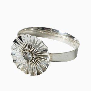 Armband aus Silber und Bergkristall von Theresia Hvorslev für Alton, 1973