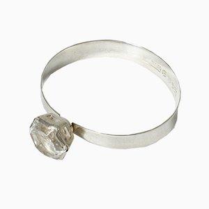 Bracelet en Argent et Cristal de Roche de Alton, 1968
