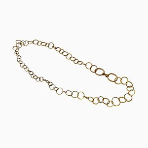 Brass Necklace or Hip Link by Anna-Greta Eker for Plus Norway, 1960s