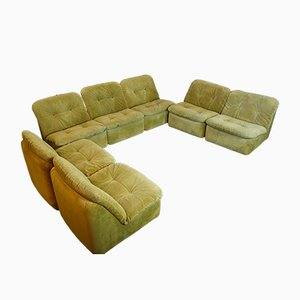 Mid-Century Modular Ambo Lounge Sofa by Jo Otterpohl for Cor, 1960s, Set of 7