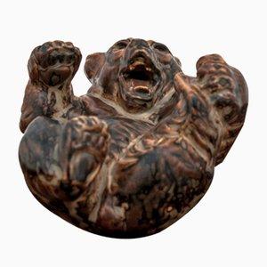 Figurine Ours par Knud Khyn pour Royal Copenhagen, 1950s