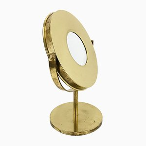 Brass Table Mirror by Hans-Agne Jakobsson for Hans-Agne Jakobsson AB Markaryd, 1960s