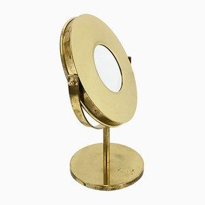 Specchio da tavolo in ottone di Hans-Agne Jakobsson per Hans-Agne Jakobsson AB Markaryd, anni '60