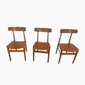 Dining Chairs, 1960s, Set of 3
