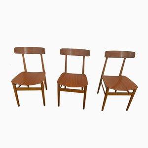 Esszimmerstühle, 1960er, 3er Set