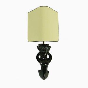 Keramik Wandlampen von Paul Pouchol, 1950er, 2er Set