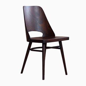 Beech Veneer Dining Chairs by Oswald Haerdtl for TON, 1950s, Set of 6