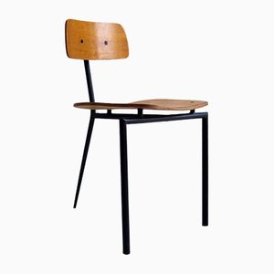 Modernist 3-Leg Dining Chair, 1950s