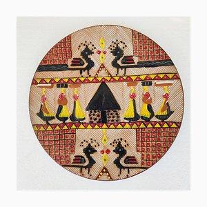 Plate by Ciriaco Piras, 1969