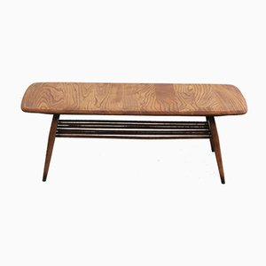 Coffee Table with Magazine Rack by Lucian Ercolani for Ercol, 1960s