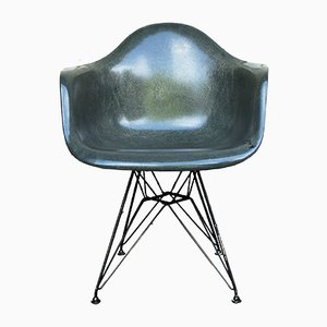 Eiffel Armchair Dar by Charles & Ray Eames for Herman Miller, 1958