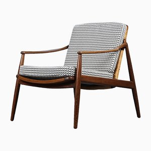Mid-Century German Hermès Upholstered Lounge Chair by Hartmut Lohmeyer for Wilkhahn, 1950s