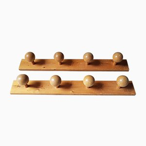 Chalet-Style Coat Racks, 1970s, Set of 2