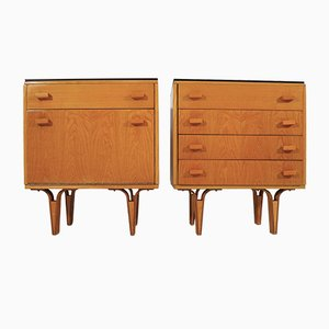 Vintage Nightstands, 1970s, Set of 2